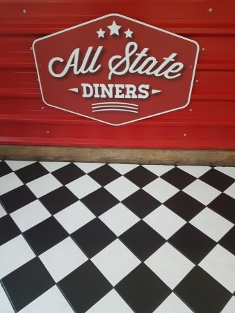 Newton-Le-Willows, UK: All State Diners NLW