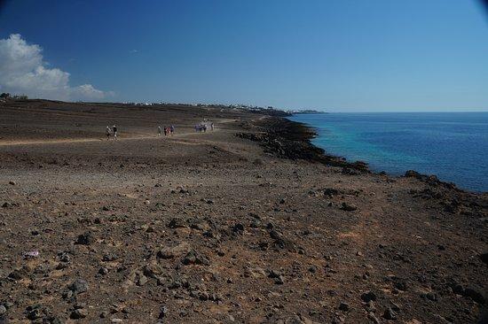 View towards puerto del carmen picture of walk from puerto del carmen to puerto calero puerto - Lanzarote walks from puerto del carmen ...