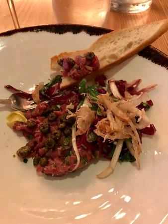 Chez Boulay-bistro boréal : Bison tartare