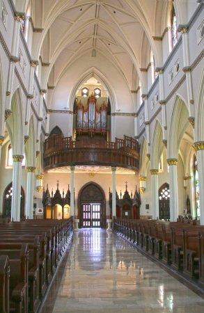 Cathedral of Saint John the Baptist: Back of Cathedral Toward Organ/Door
