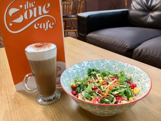 Kildare, Ireland: Enjoy a tasty mean from our Zone cafe