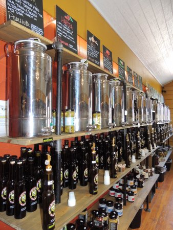 Berkeley Springs, Δυτική Βιρτζίνια: Balsamic vinegar wall