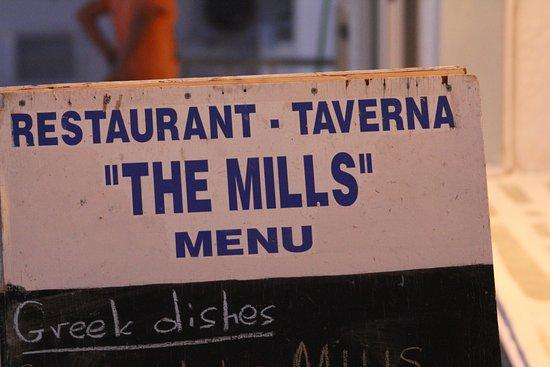 The Mills : pancarte