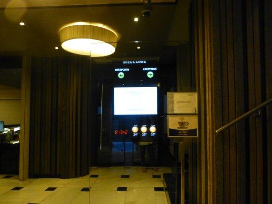 Regente Hotel: Recepcion