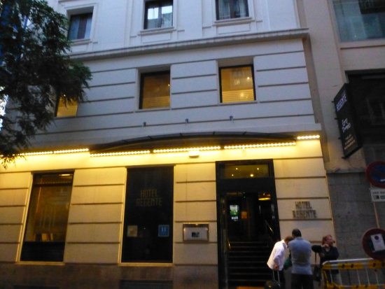 Regente Hotel: Frente del hotel
