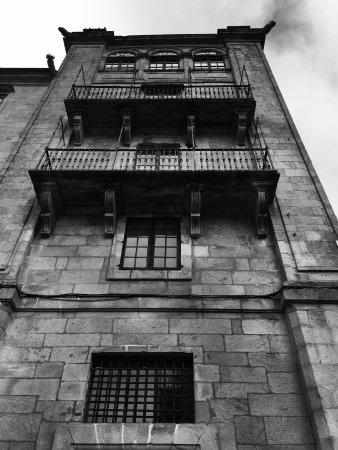 Plaza Cervantes - Santiago : Dans la rue