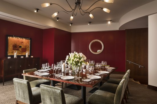 Four Seasons Hotel Houston Il Rosso Private Dining Room At Quattro