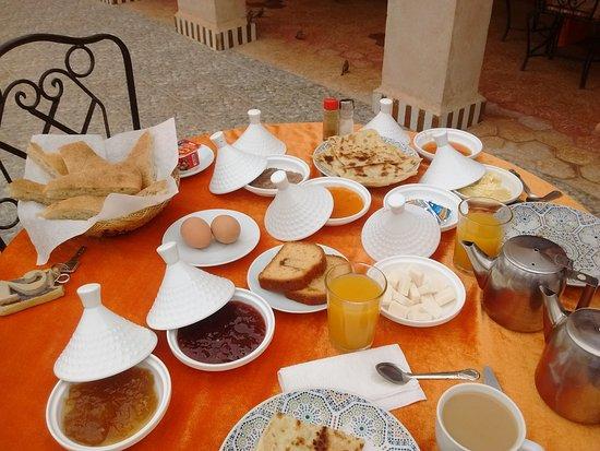 Riad Mamouche: desayuno