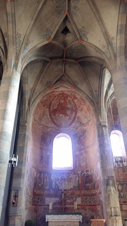 Benedictine Convent of Saint John Müstair: PIntura no teto