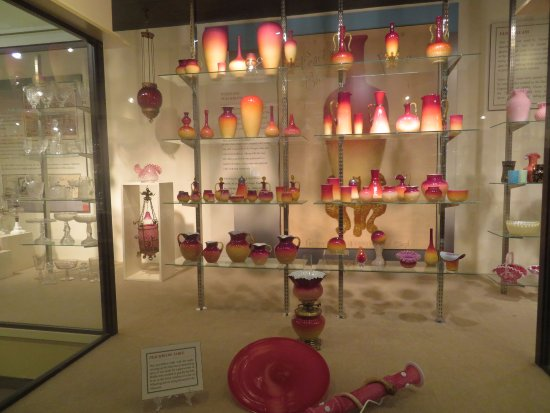Oglebay Institute Glass Museum: Captivating Pieces Described in Detail By Signage Nearby
