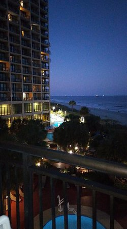 Beach Cove Resort: First night on a much needed Vacation