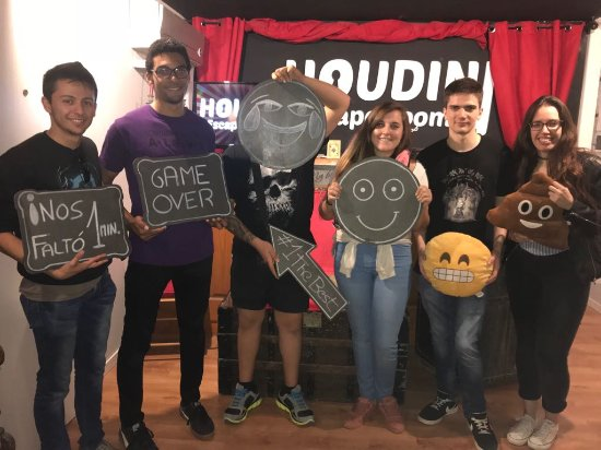 Escape De Houdini Escape Room Barcelona