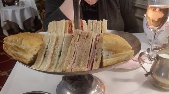 The Drawing Room at the Prince of Wales Hotel: Finger Sandwiches
