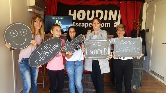 Houdini Room Escape Malgrat