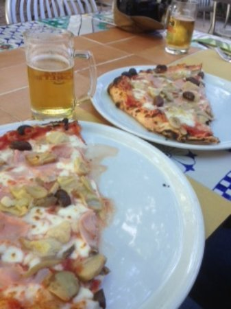 Pizzeria Donna Stella: Wonderful pizza