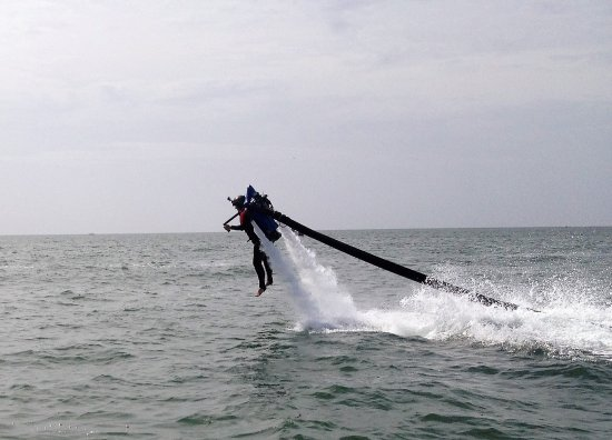 JetLev at TradeWinds Island Resorts: Getting lifted by the JetLev