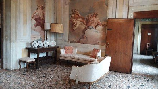 Villa Valmarana ai Nani: Un interno