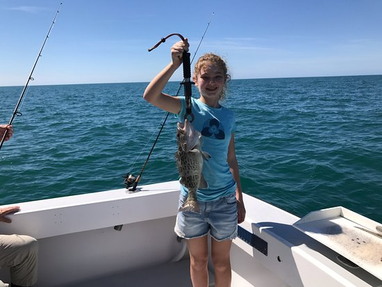 Foto de say what fishing charters isla marco alex caught for Delaware fishing charters