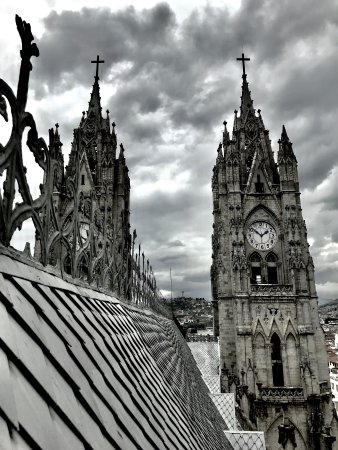 Basilika von Quito: View from the Top!
