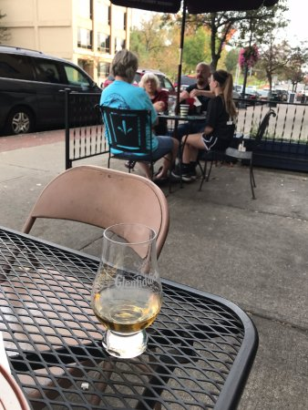 Delaware, OH: shot of scotch