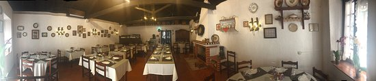 Coruche, Portugal: Restaurant Inside