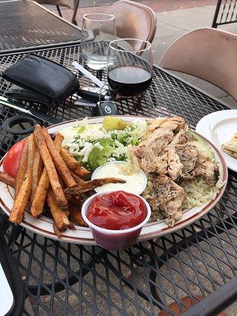 Delaware, OH: my chicken platter
