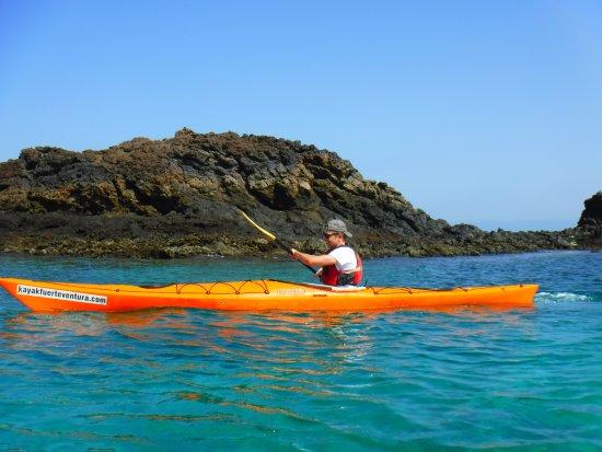Kayak Fuerteventura: Photo taken for us by Jorge