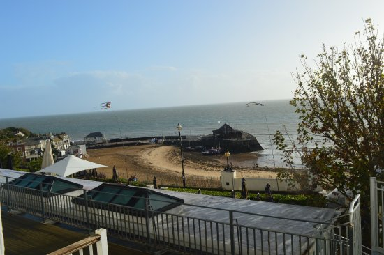 Royal Albion Hotel: View from our room No. 15)