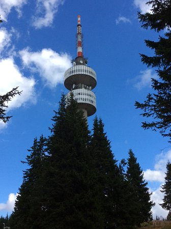 Pamporovo Ski Resort: Tv tower. Good views and lunch