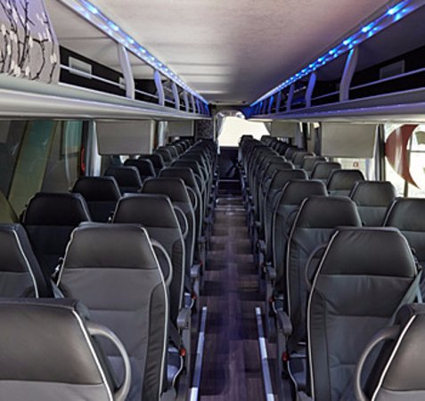 Concord, CA: Standard Interior of our Motor Coaches