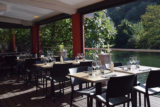 Restaurant L'Ecluse: Salle intérieur