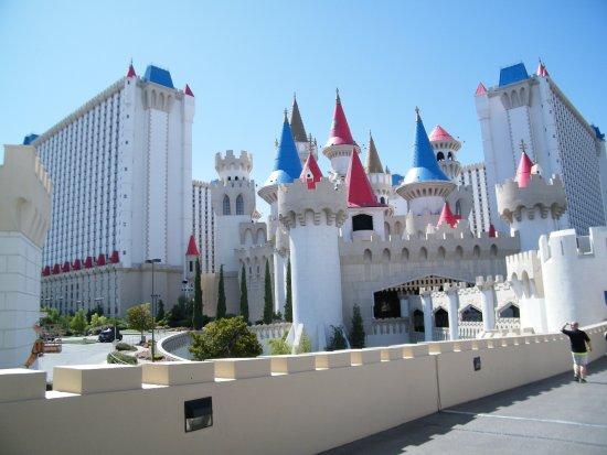 exterior picture of casino at excalibur las vegas tripadvisor
