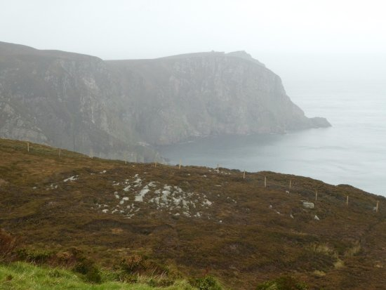 Dunfanaghy, Irlanda: Coastal scenery from summit