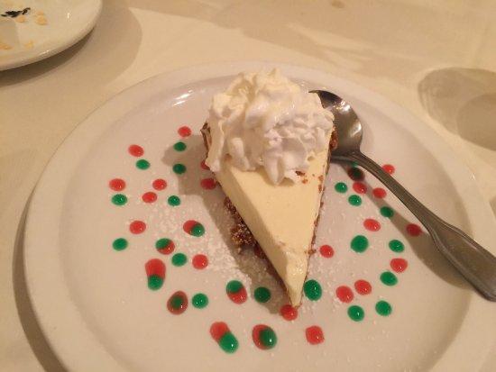Morganton, North Carolina: Real Key Lime Pie - tart and creamy.
