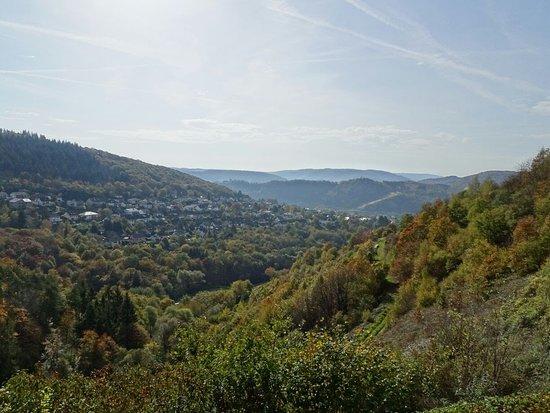 Bullay, Duitsland: Aussicht von Onkel Toms Hütte
