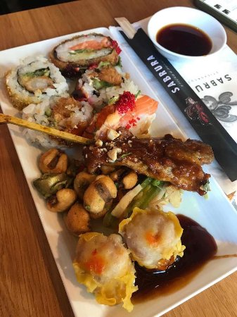 Sabrura sticks & sushi