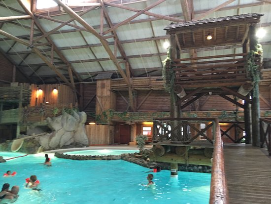 Entr e de la piscine restaurant foto van disney 39 s davy for Piscine davy crockett