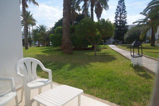 Thalassa Sousse Resort & Aquapark: Вид из бунгало 105