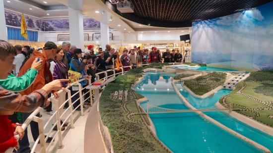 Three Gorges Museum Model Room - Brings it all into Perspective!