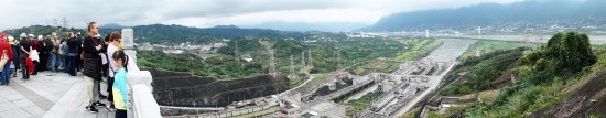 Panorama from the Top of the Three Gorges Museum