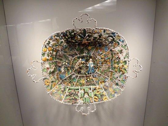 Corning, Νέα Υόρκη: Oeuvre anglaise faite de verre et de soie