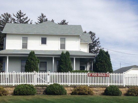 """Dyersville, IA: Farmhouse where """"Field of Dreams"""" was filmed."""