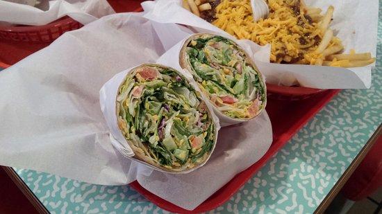 Hawthorne, CA: Chicken Wrap