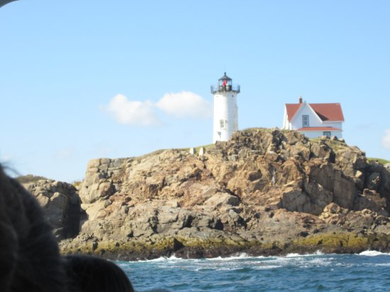 Finestkind Scenic Cruises: Nubble Lighthouse from the boat