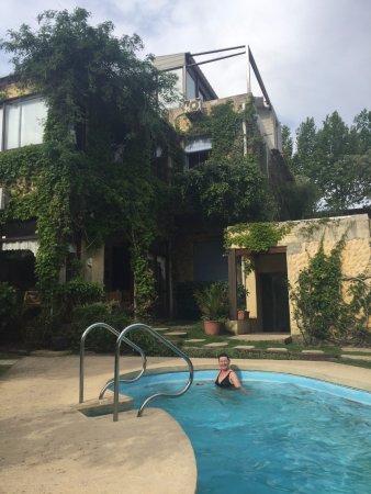Posada del Angel: nice heated pool