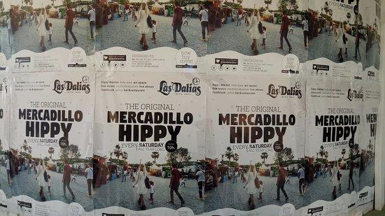 Sant Carles de Peralta, Spain: Las Dalias Hippy Market