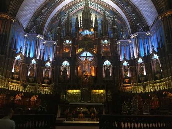 Montreal, Canada: The Beautiful Gothic Facade