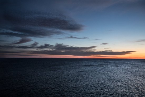 Big Bay, MI: sunrise from the top of the lighthouse.