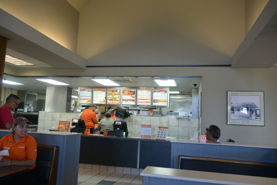 Whataburger: Inside restaurant