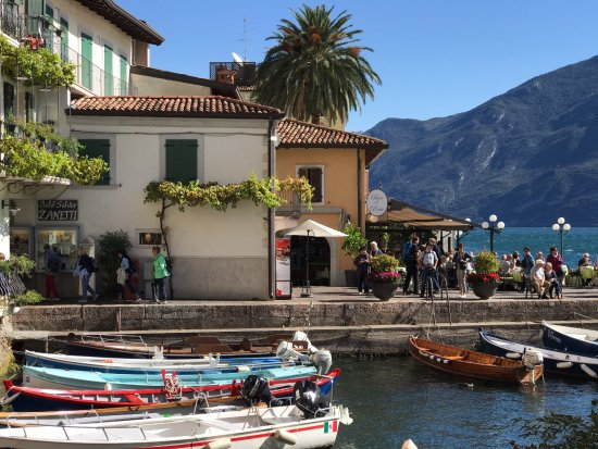 Ferry from Malcesine to Limone and Riva: Limone Sul Garda
